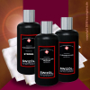 Swissvax Swizöl CLEANER FLUID SET STRONG + MEDIUM + REGULAR + 12 Stück POLIERTÜCHER T1